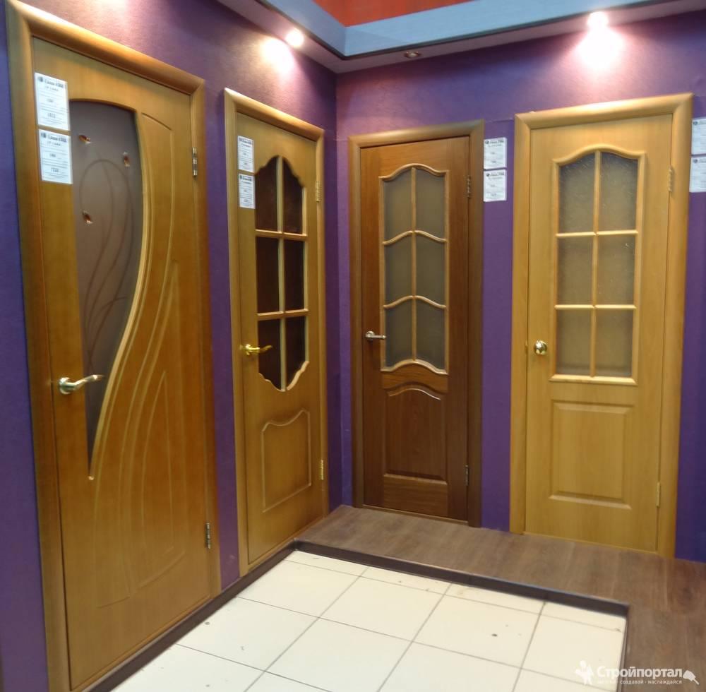 Двери с покрытием из ПВХ