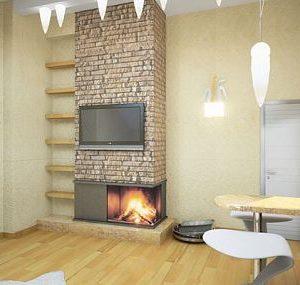 Дизайн-проект квартиры с керлитом