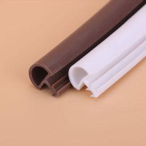 Резинки для межкомнатных дверей: разновидности, монтаж и решение проблем с уплотнителями