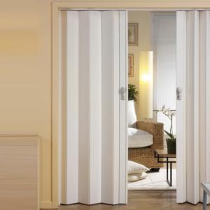 Плюсы и минусы складных дверей: как правильно выбрать «гармошку»?