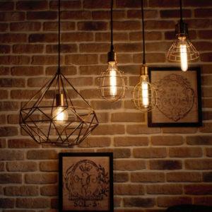 Освещение в стиле лофт — оригинальный вариант зонирования