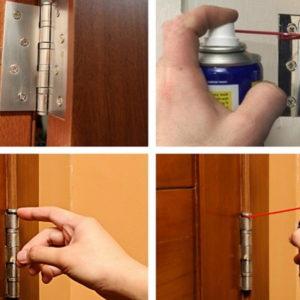 Виды поломок и ремонт дверных петель