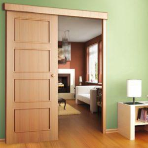 Раздвижные системы межкомнатных дверей: виды конструкций и правила установки