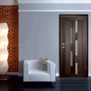 Особенности дверей из экошпона — ТОП-10 дизайнерских решений