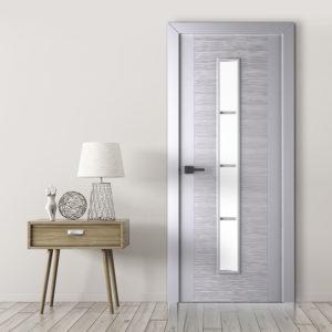 Межкомнатные двери серого цвета в интерьере: варианты, сочетание, фото