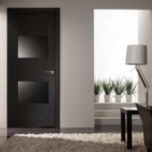 Стоит ли ставить черные межкомнатные двери — примеры в интерьере