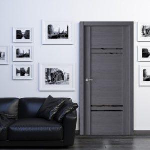 Темные межкомнатные двери в интерьере: выбор, сочетание, идеи