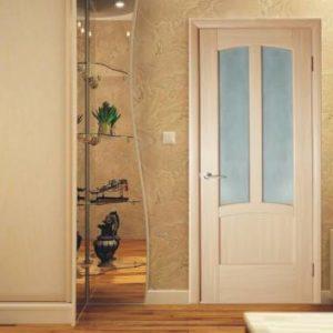 Практичные и стильные межкомнатные двери цвета капучино в интерьере