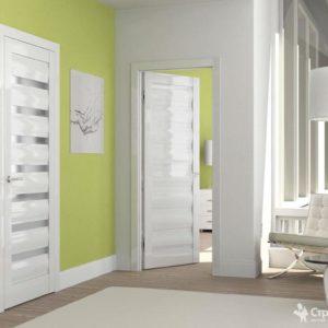 Межкомнатные глянцевые двери в интерьере: преимущества и недостатки, виды, критерии выбора